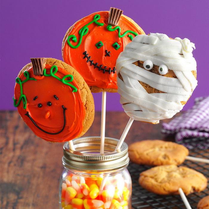 Печенье на Хэллоуин-подача