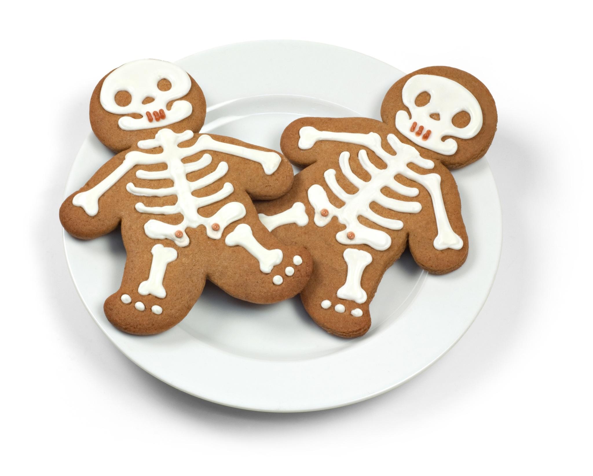 Печенье скелеты