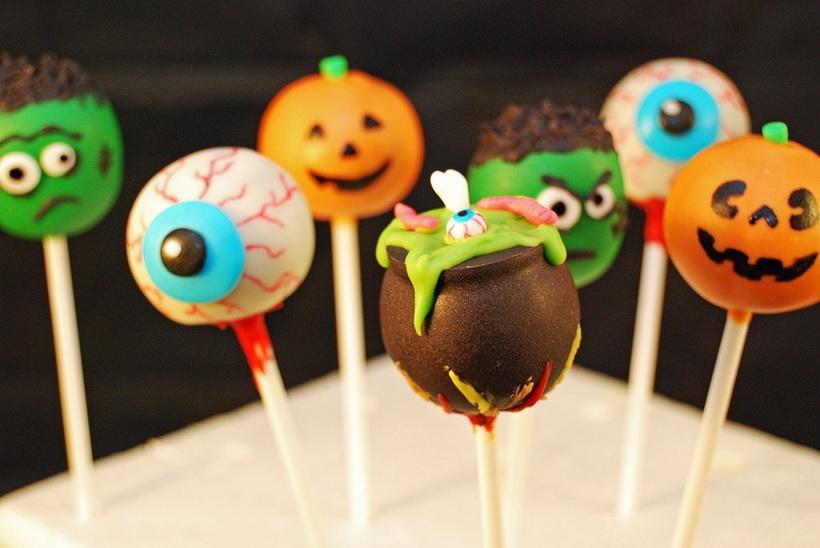 Pop cakes-Halloween