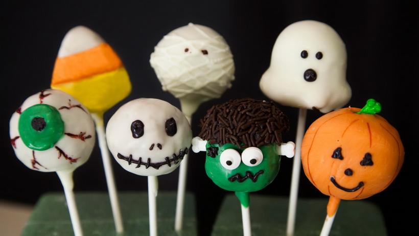 Pop cakes-на Halloween