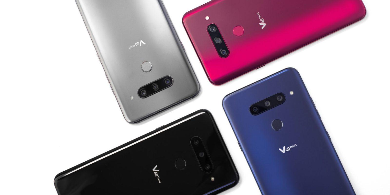 Смартфоны, которые мы сможем купить осенью 2018 - LG V40 ThinQ