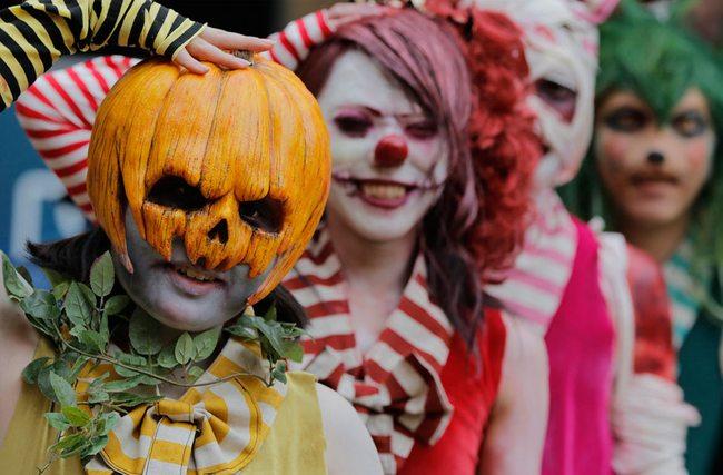 Современные традиции Хэллоуина-2018