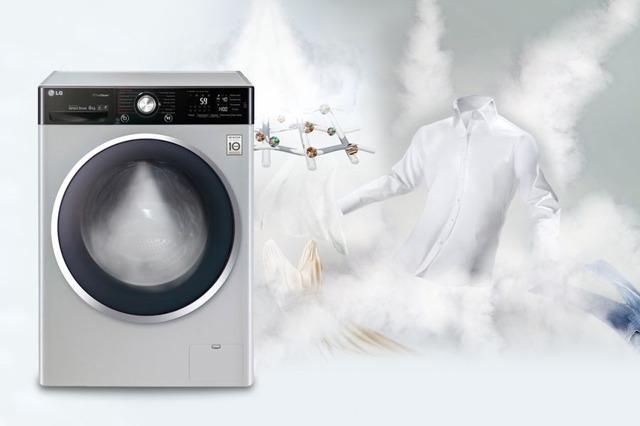 Стиральная машина LG-с функцией пара TrueSteam