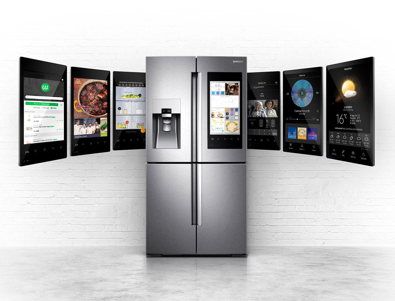 ТОП холодильников Samsung по отзывам покупателей - Samsung Family Hub