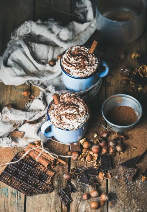 Вкусная осень-согревающие напитки