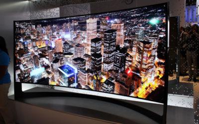 Ночной город на экране