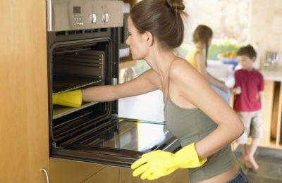 Очищення духовки