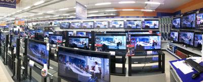 Багато телевізорів