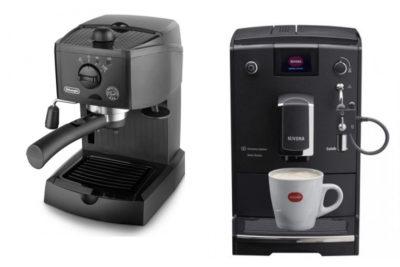 кофемашины Delongi и Nivona
