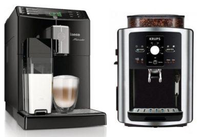 кофемашины Saeco и Krups