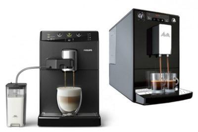кофемашины Philips и Melitta