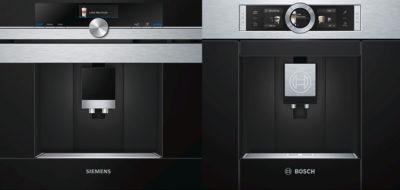 кофемашины Siemens и Bosch