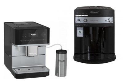 кофемашины Miele и Delonghi