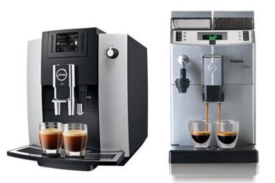 кофемашины Jura и Saeco