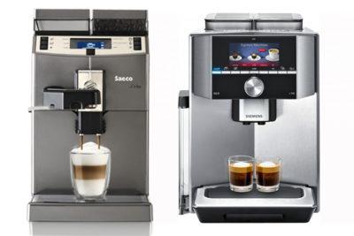 кофемашины Saeco и Siemens