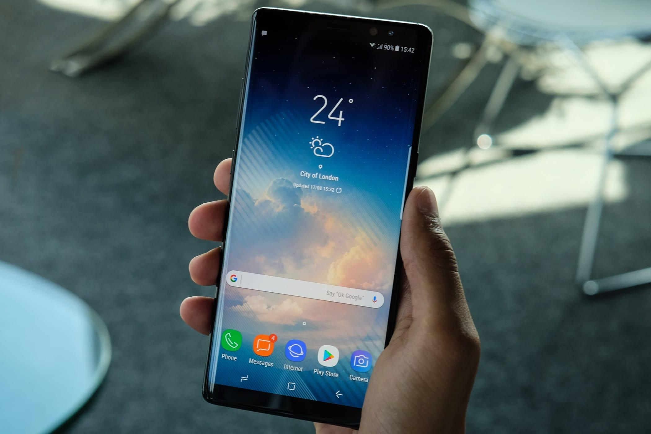 9 вещей, которые делают Samsung galaxy note 9 особенным - безграничный дисплей смартфона