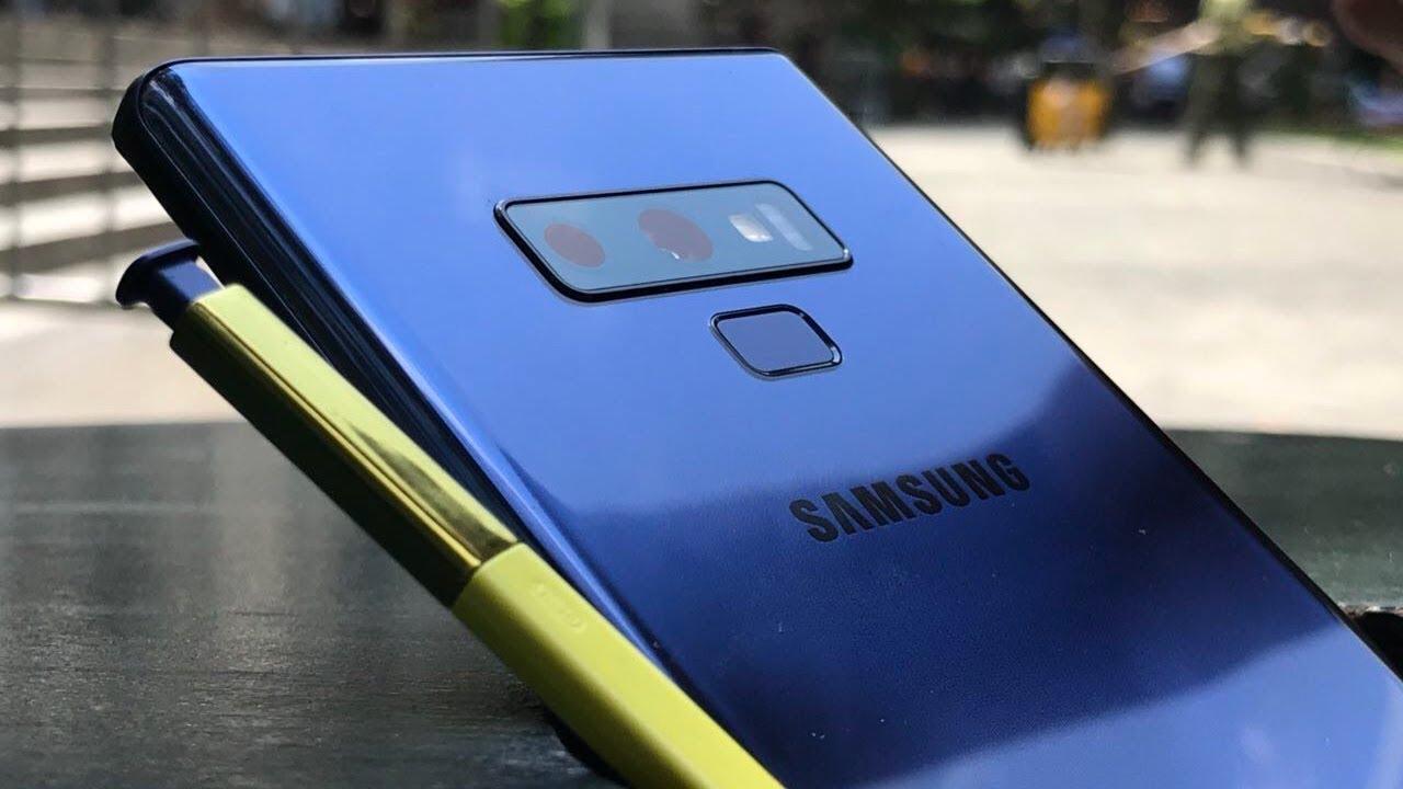 9 вещей, которые делают Samsung galaxy note 9 особенным - дизайн смартфона