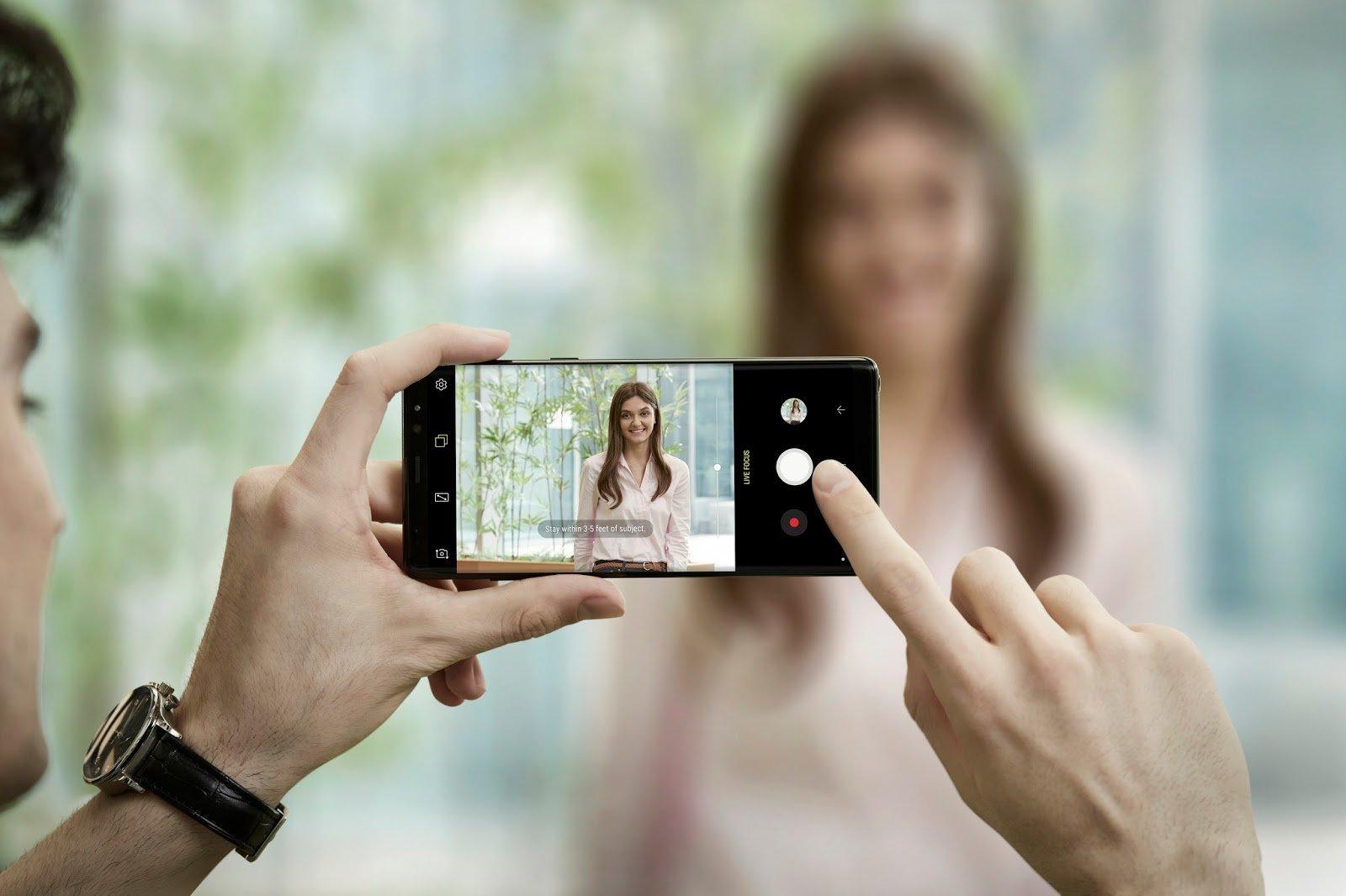 9 вещей, которые делают Samsung galaxy note 9 особенным - камера с интеллектом