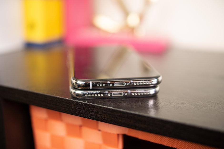 Apple iPhone XS против Apple iPhone X - стереодинамики на смартфоне