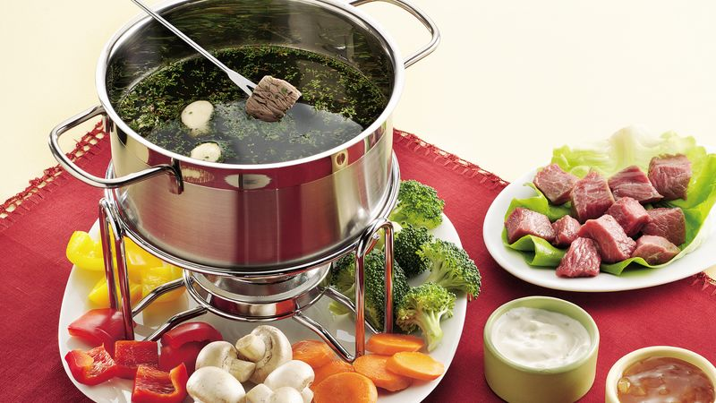 Beef and Chicken-Fondue Recipe