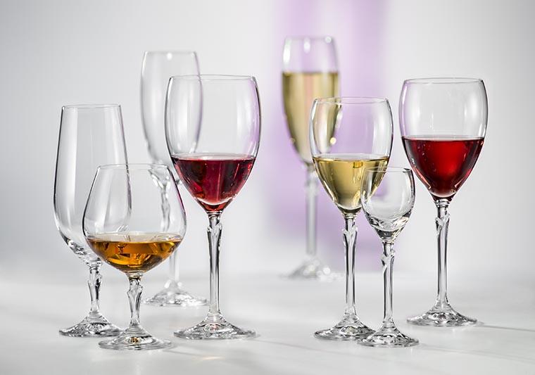 Бокалы для разных напитков