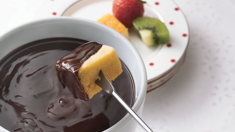 Dark Chocolate-Fondue