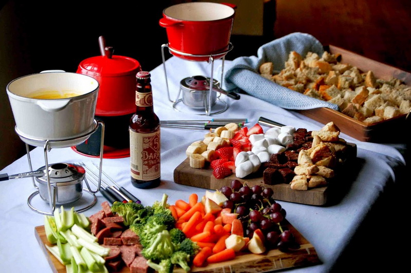 Fondue-Party photo
