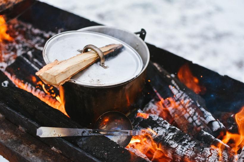 Глинтвейн на костре-вкусная осень