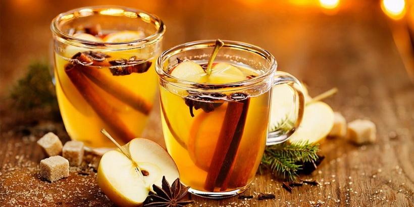 Грог-медово-яблочный напиток