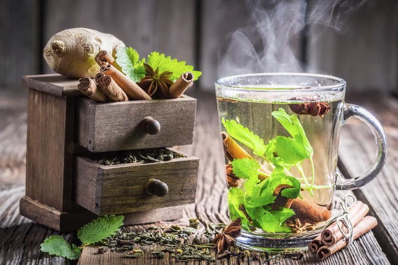 Имбирь-чайная кулинария