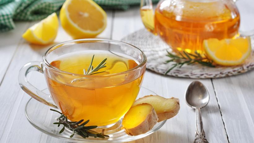 Имбирный чай-рецепт