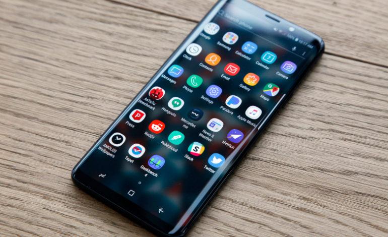 Как изменились смартфоны за 5 лет - Samsung galaxy S9+