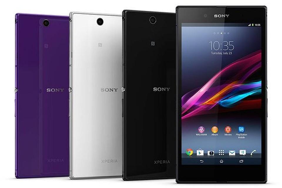 Как изменились смартфоны за 5 лет - Sony Xperia Z Ultra