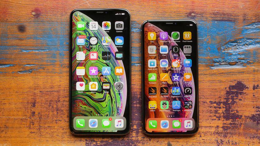 Как изменились смартфоны за 5 лет - iPhone Xs Max