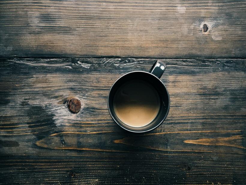 Кофе-бодрая осень