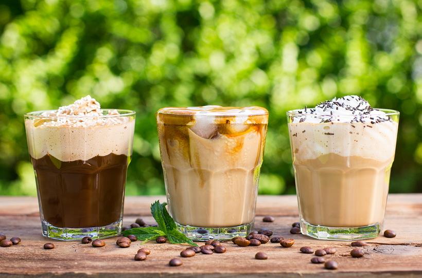 Кофе с халвой-десертный напиток