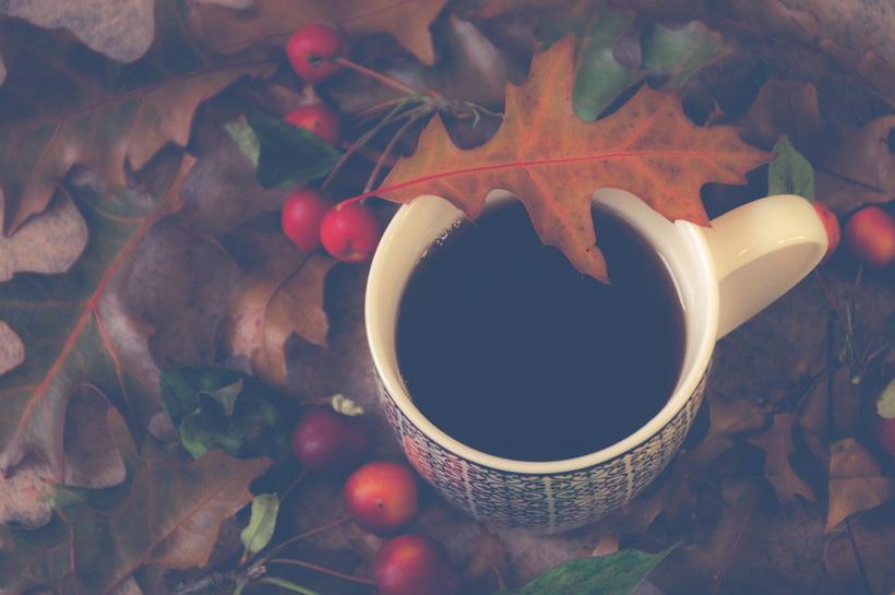 Любимая чашка-вкусная осень
