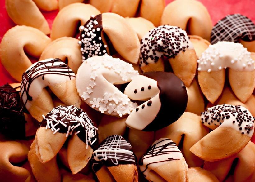 Новогоднее печенье-с декором
