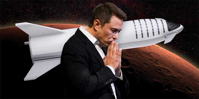 О полете на Марс