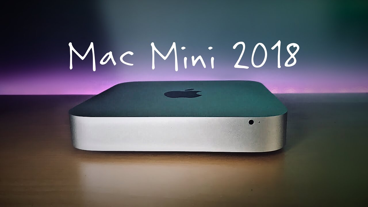 Обзор нового Apple MacBook Pro 15 2018 - Mac Mini 2018