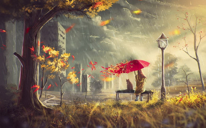 Осень-унылая пора