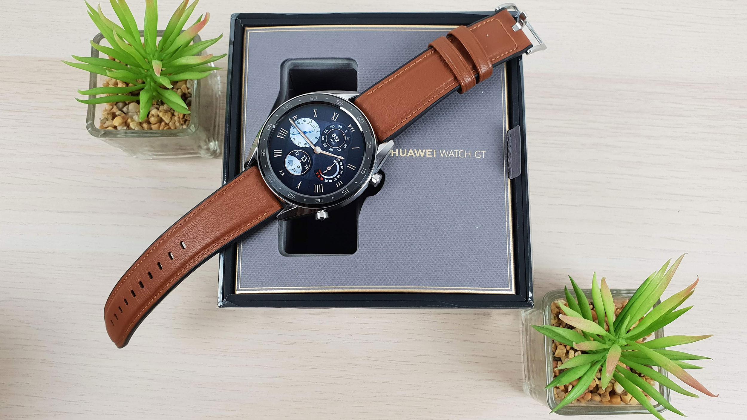 Первый взгляд на Huawei Watch GT 5