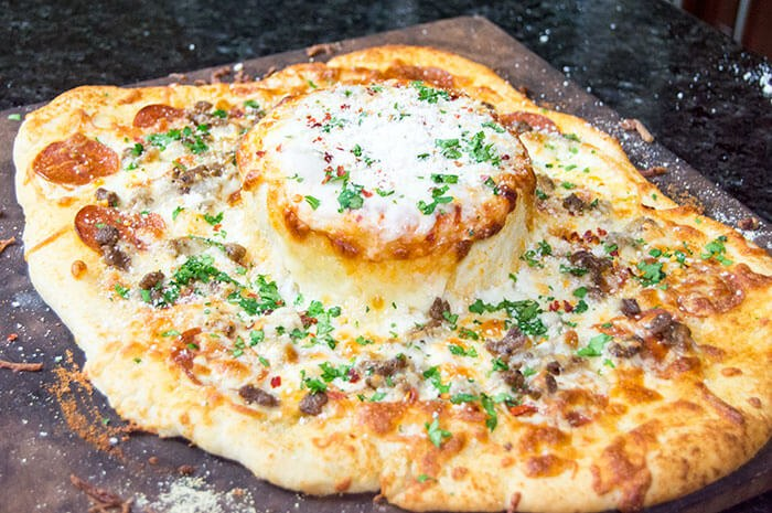 Pizza-Fondue