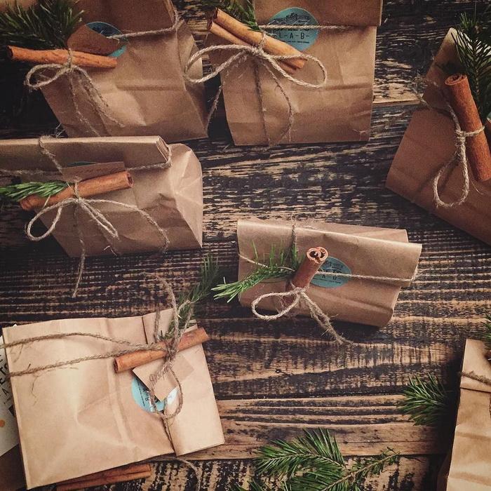 Праздничные сюрпризы-упаковка