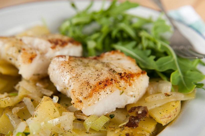 Рыба в духовке-запеченая