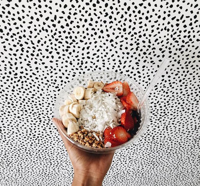 Смузи-боул на завтрак-фото