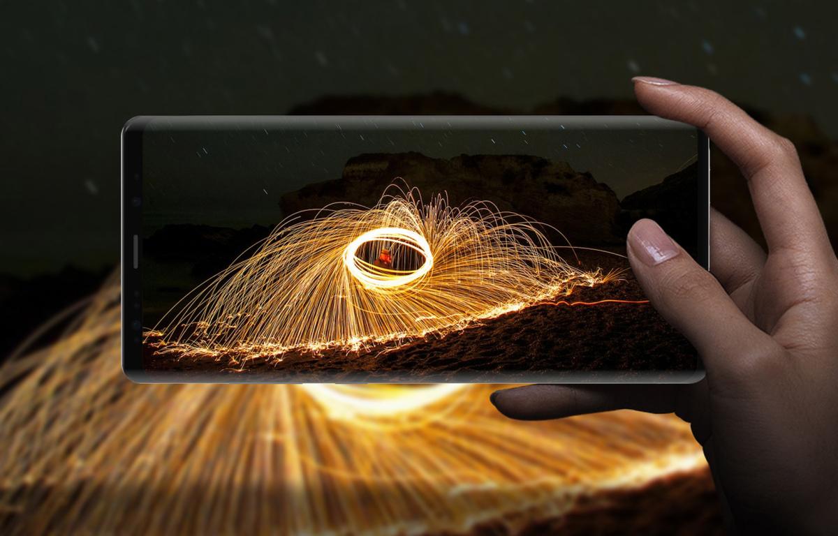 Сравниваем Samsung Galaxy Note 9 с Galaxy Note 8 - качество видео