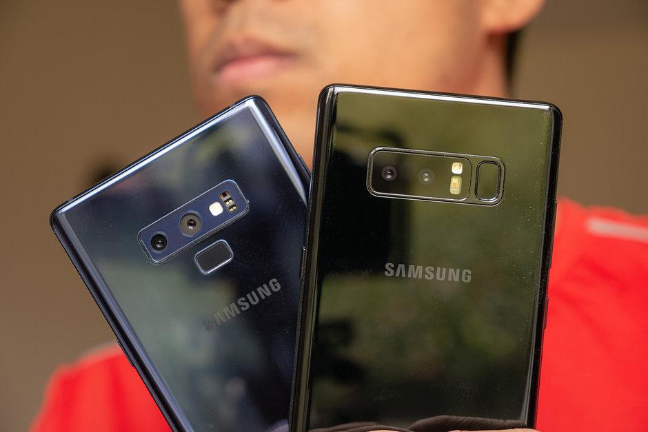 Сравниваем Samsung Galaxy Note 9 с Galaxy Note 8 - камеры двух смартфонов
