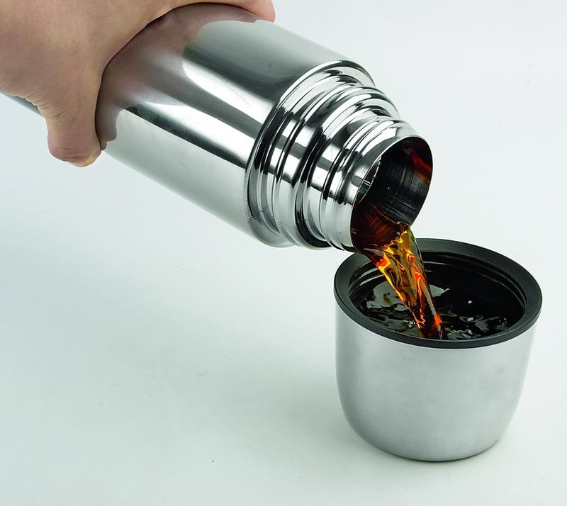 Техника, которая поможет нам согреться осенью - термос с чаем