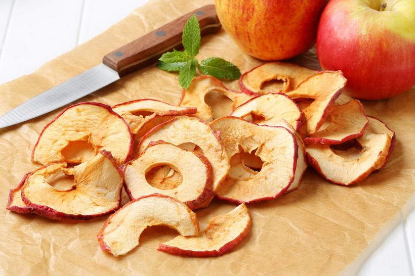 Яблочная сушка-снеки и ЗОЖ